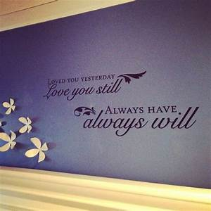 above head board in bedroom wall decal from hobby lobby With wall letter decals hobby lobby