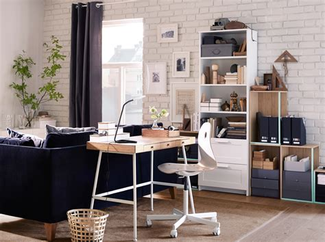bureau design ikea a neat and space saving desk in bamboo ikea
