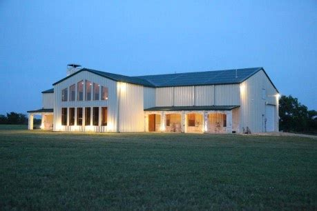 See more ideas about metal barn homes, barn house, pole barn homes. Beautiful | Steel building homes, Metal building homes ...