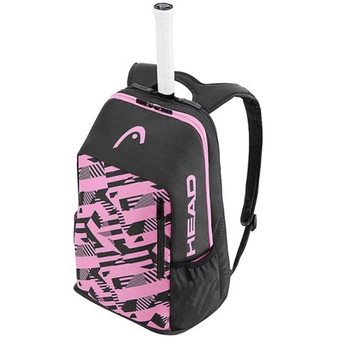 head radical tennis backpack pink   tennis