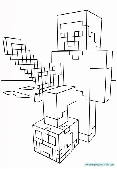 Minecraft Coloring Printable Sheets