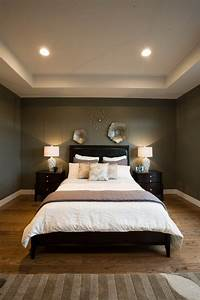 Magnificent dark brown bedroom wall color by pleasing