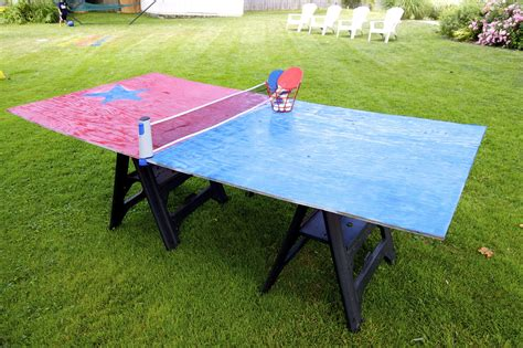 cheap ping pong tables 13 crazy fun yard games your family will flip for this