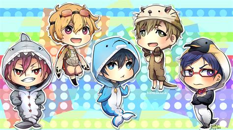 Chibi Animals Wallpaper - free chibi wallpaper 3151x1767 125770 wallpaperup