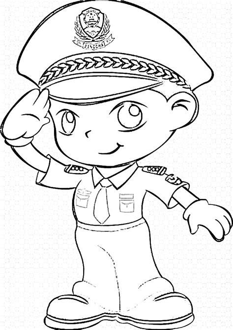 Curi baut proyek jalan tol, polisi ciduk 11 pelaku via www.harianpilar.com. 12 Gambar Polisi Hitam Putih   Mewarnai Gambar   IqbalNana
