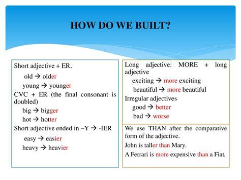 comparative  superlative adjectives prezentatsiya onlayn