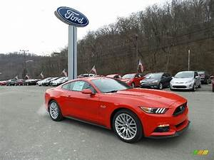 2016 Race Red Ford Mustang GT Premium Coupe #110642574 Photo #4 | GTCarLot.com - Car Color Galleries