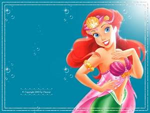 Ariel Wallpaper - Disney Princess Wallpaper (6243826) - Fanpop