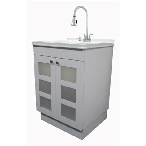 home depot utility sink kit around 250 exquisite utility sink and cabinet kit 040