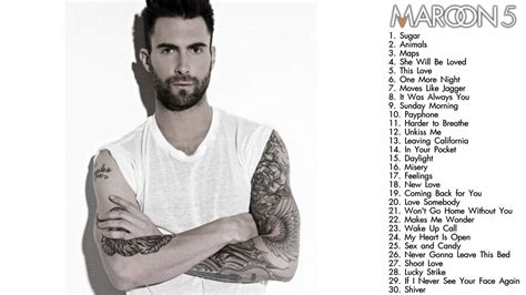 maroon 5 hits maroon 5 greatest hits preview youtube