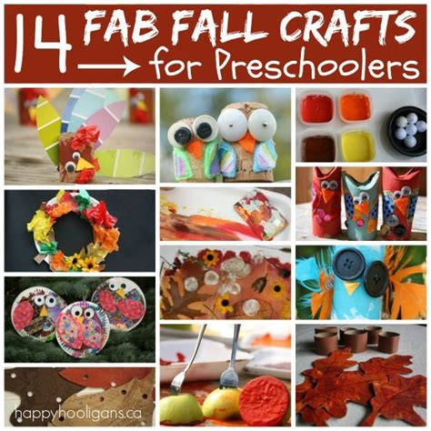 fun fall crafts for preschoolers fall crafts for easy fall kid crafts for 865