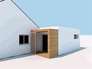 projet extension maison recente sg plans morbihan vannes With projet d extension maison