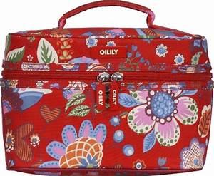 Oilily Beauty Case : oilily winter blossom square beauty case tasche kosmetiktasche kulturbeutel rot ebay ~ Orissabook.com Haus und Dekorationen