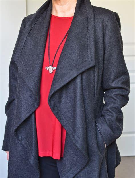Draped Coats - stylish murmurs the draped coat
