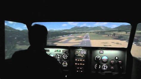 siege simulateur de vol simulateur de vol panoramique enac