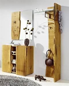 Garderobe Eiche Massiv Geölt : woodline garderobe eiche massiv ge lt m ~ Watch28wear.com Haus und Dekorationen