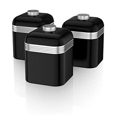 black kitchen canisters co uk