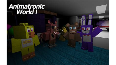 animatronic world roblox