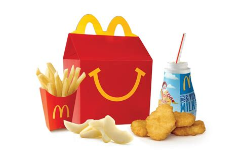 How Many Calories In A Happy Meal? Mcdonald's Drops