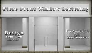 custom window lettering decals glass decals automotive With custom store window lettering