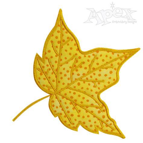 Leaf Applique by Leaf Applique Embroidery Design