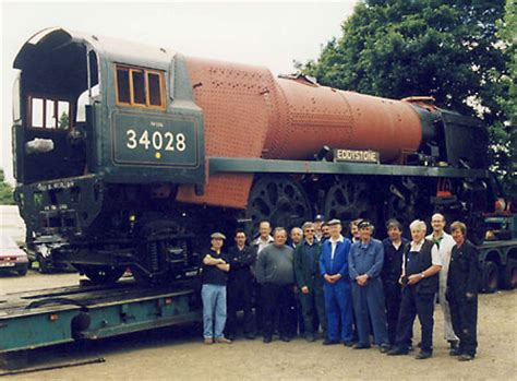 34028 Eddystone Restoration