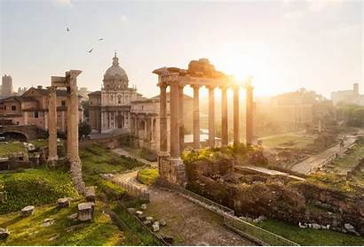 Rome Ancient Wallpapers Roman Architecture Landscape Italy
