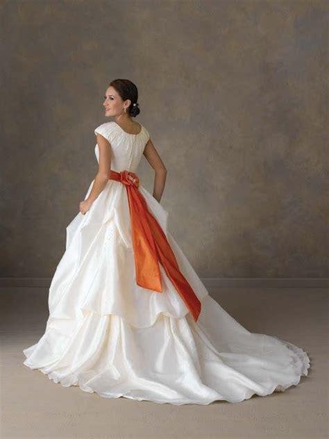 white black orange wedding dress bonny bridal gown