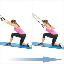 Lat Pull Downs with Resistance Band