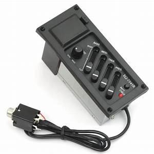 Amperage Pour Four : equaliseur pre amp 4 bandes avec micro piezo pickup pour ~ Premium-room.com Idées de Décoration