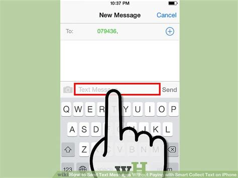 how to send message on iphone how to send text messages without paying with smart