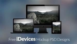 40 Free Apple Devices Mockup PSD Designs | InstantShift