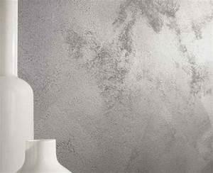 Peinture Argentée Pour Bois : 12 peinture effet pour les murs de la maison d co cool ~ Teatrodelosmanantiales.com Idées de Décoration