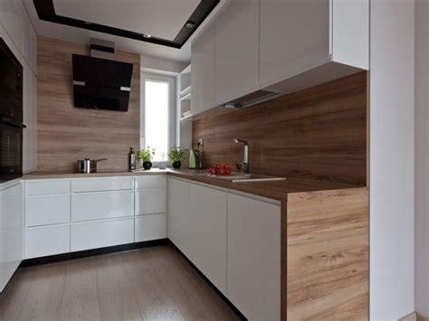 cuisine hetre clair plan de travail cuisine 50 idées de matériaux et couleurs