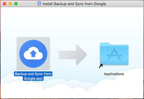 Upgrade Google Drive To Google Backup And Sync On Apple