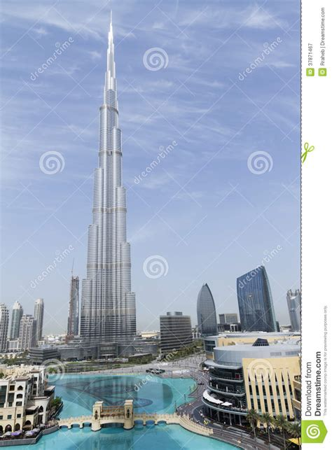 Burj Khalifa Tallest Building in the World