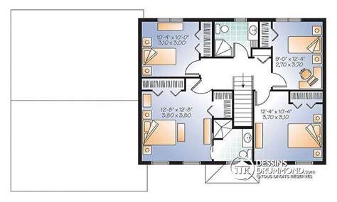 plan maison 4 chambres gratuit plan de maison gratuit 3 chambres pdf