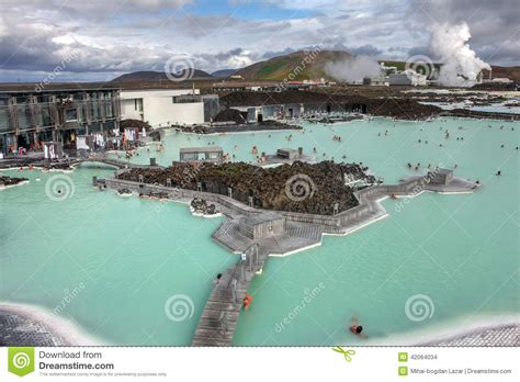 Blue Lagoon Spa Iceland Stock Photo Image 42064034