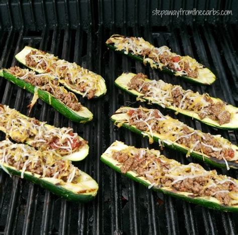 Zucchini Boat Recipes On The Grill by Best 25 Grilled Zucchini Boats Ideas On