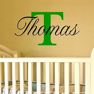 wall decal good ideas for personalised wall decals uk With nice wall letter decals for nursery