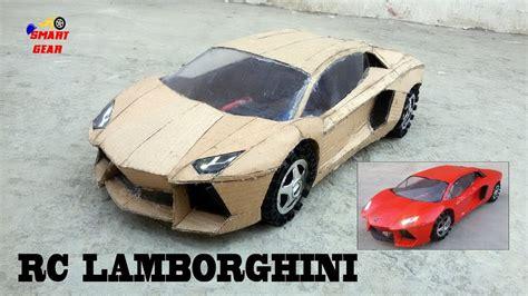 How To Make A Lamborghini by Wow Rc Lamborghini Diy Cardboard Lamborghini