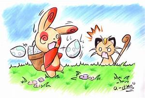 spinda and meowth | pokemon | Pinterest