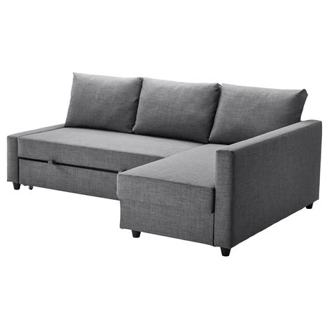 canape angle convertible ikea friheten corner sofa bed with storage skiftebo grey