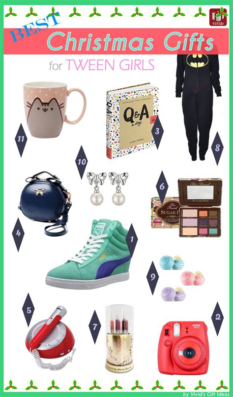 cool holiday gift guide for tweens gifts for tween girls