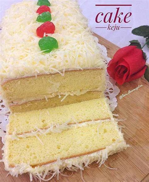 Untuk sekitar 150 buah kue sagu keju atau lebih tergantung besar kue. Resep Membuat Cake Keju Pake Resep Bolu Hongkong Sajian Sedap Anti Gagal Bund