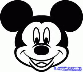 step    draw mickey mouse easy