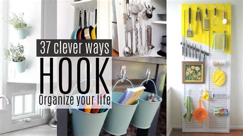 decorative wall cabinets with doors 37 organizing ideas with command hooks youtube
