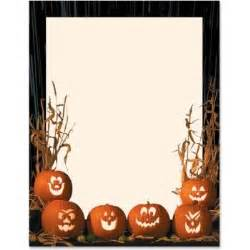 Halloween Page Borders for Microsoft Word Templates