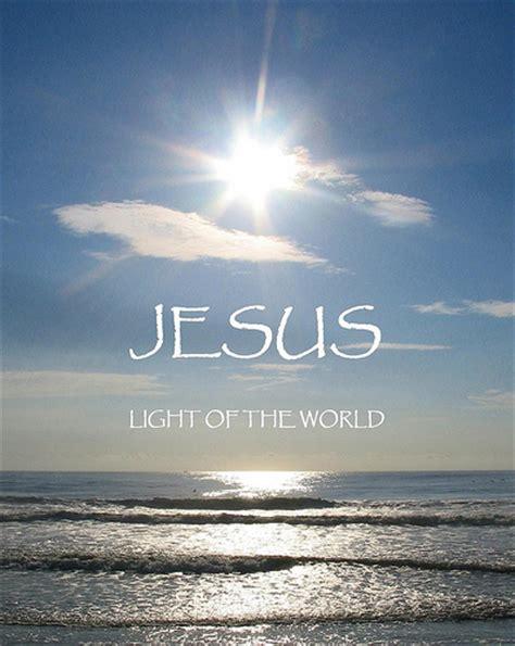 jesus light of the world ministers destiny dominion