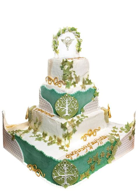 lord of the rings wedding cake idea in 2017 wedding